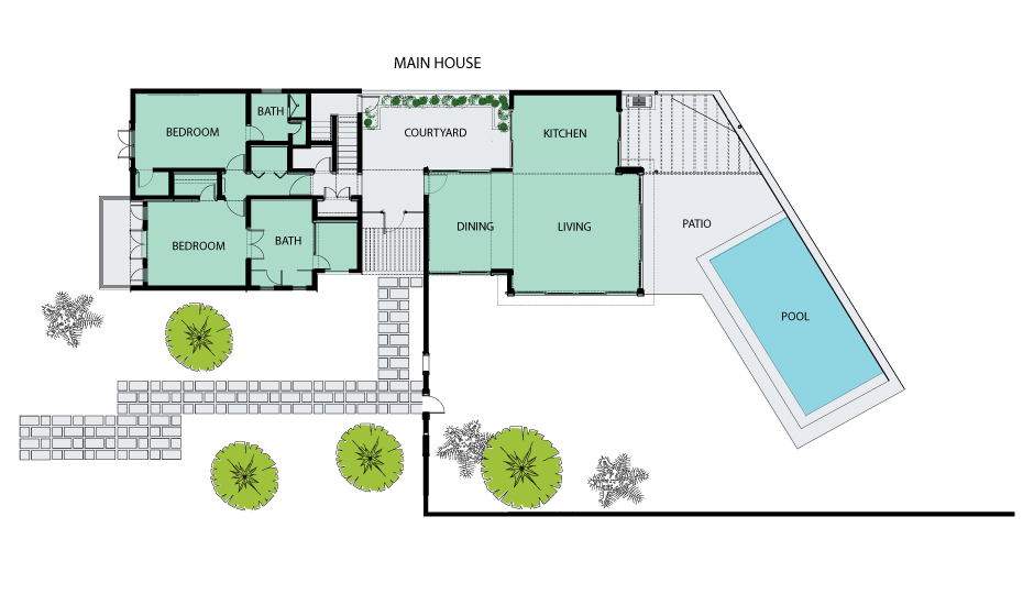 Lower Bed Plan | Four Seasons Resort Estates